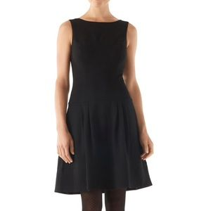 WHBM Ponte Drop Waist Dress